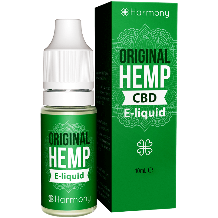 HARMONY ORIGINAL HEMP KONOPNY E-LIQUID Z CBD 10ML