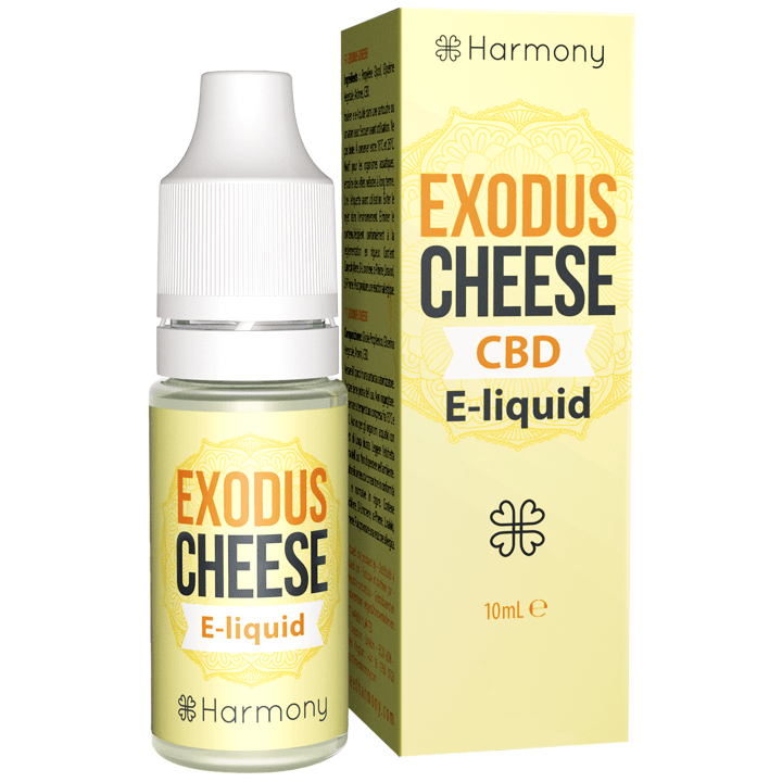 HARMONY EXODUS CHEESE KONOPNY E-LIQUID Z CBD 10ML