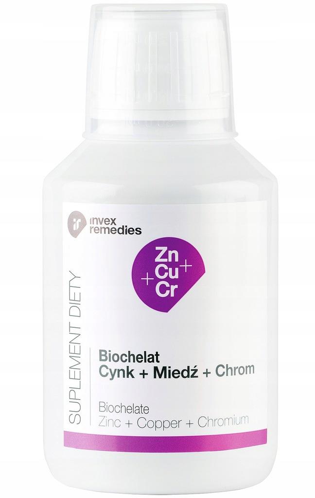 BIOCHELAT CYNK+MIEDŹ+CHROM 150ML