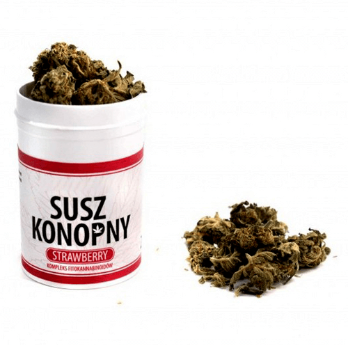 SUSZ KONOPNY 4% CBD 2G STRAWBERRY