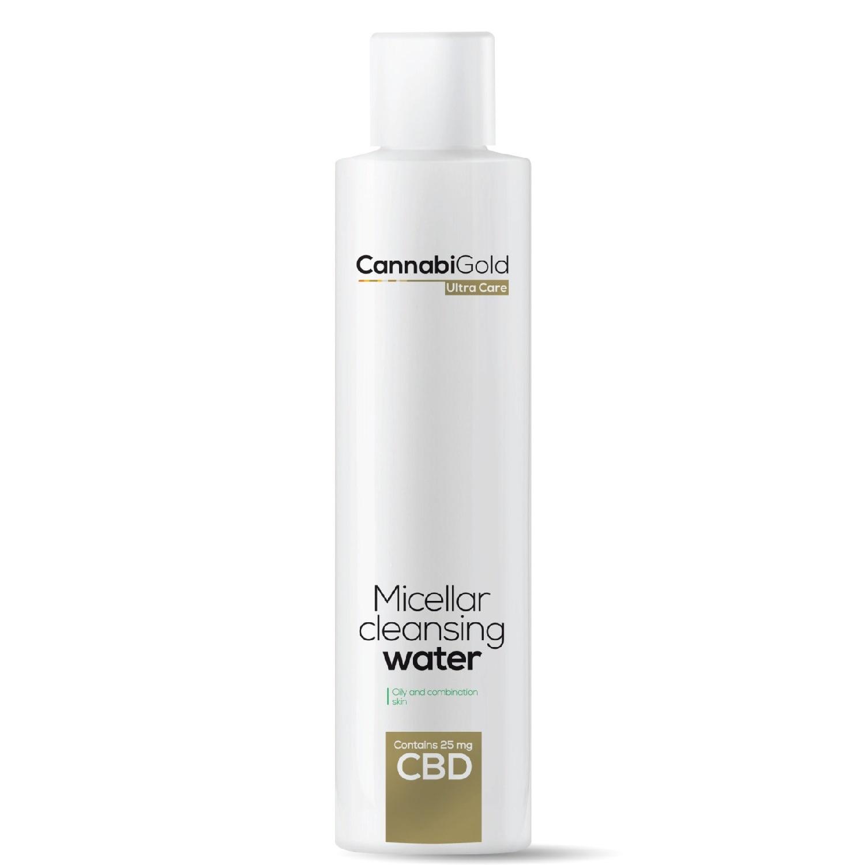 CannabiGold Płyn micelarny z CBD skóra tłusta i mieszana 200ml