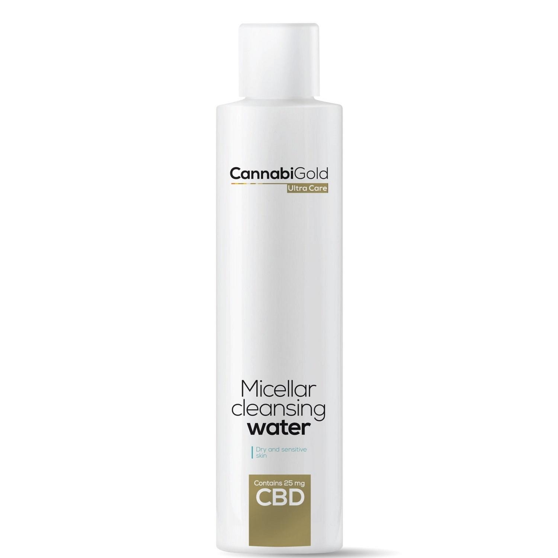 CannabiGold Płyn micelarny z CBD skóra sucha i wrażliwa 200ml