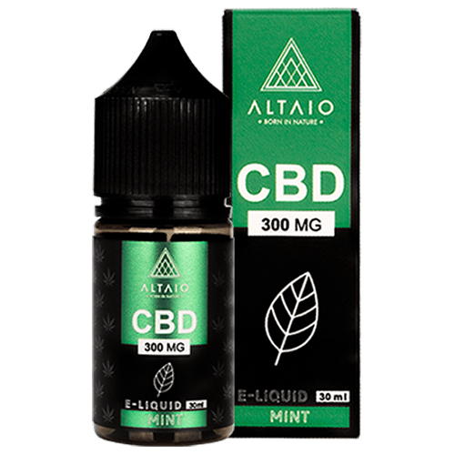 ALTAIO CBD E-LIQUID MINT 30 ML 300 MG