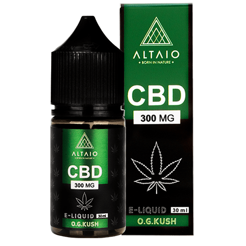 ALTAIO CBD E-LIQUID O.G. KUSH 30 ML 300 MG