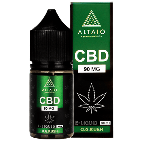 ALTAIO CBD E-LIQUID O.G. KUSH 30 ML 90 MG