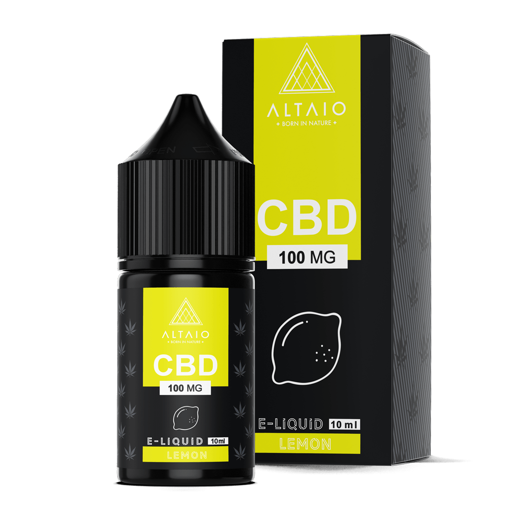 ALTAIO CBD E-LIQUID LEMON 10 ML 100 MG