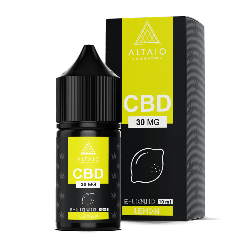 ALTAIO CBD E-LIQUID LEMON 10 ML 30 MG