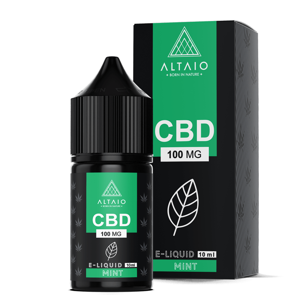ALTAIO CBD E-LIQUID MINT 10 ML 100 MG