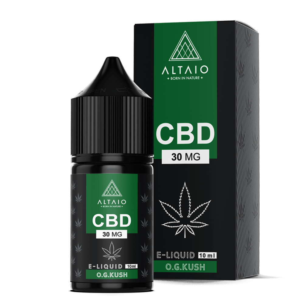 ALTAIO CBD E-LIQUID O.G. KUSH 10 ML 30 MG