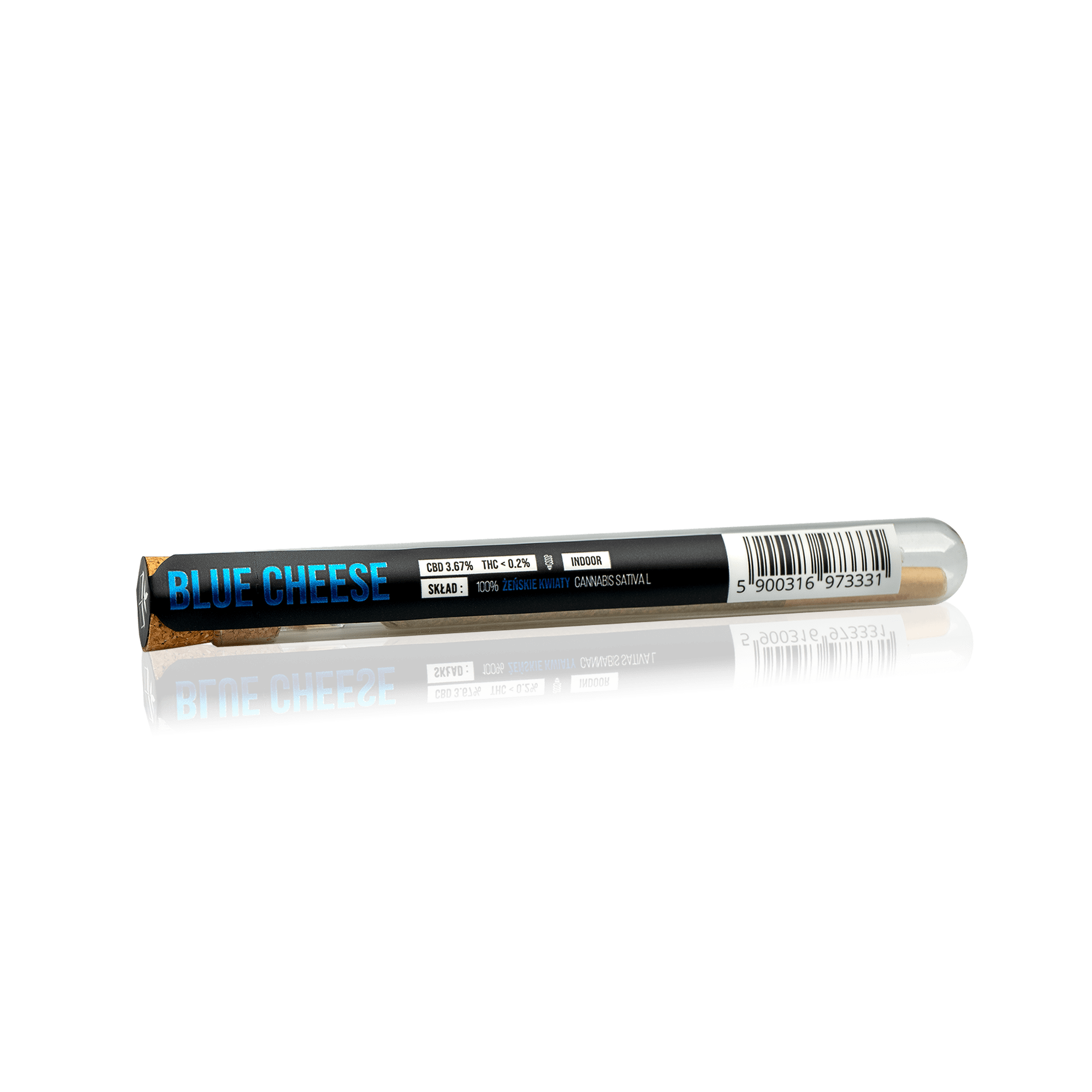 JOINT BOX Susz Konopny Pre-Roll BLUE CHEESE 3,67% CBD
