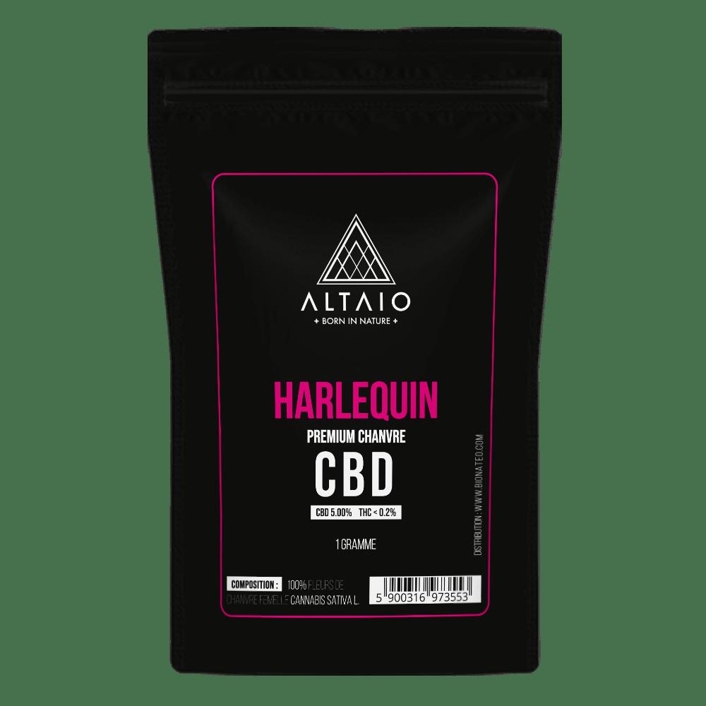 ALTAIO HARLEQUIN SUSZ KONOPNY 5% CBD 1G