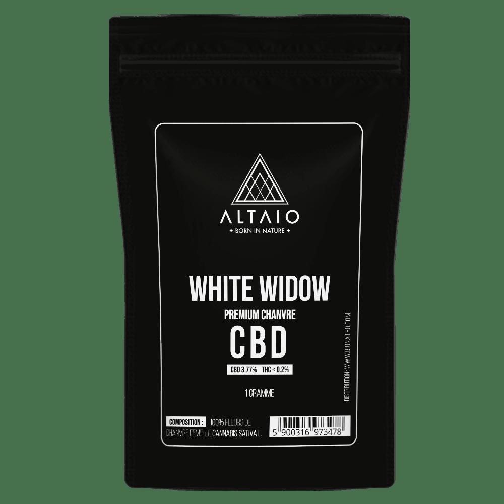 ALTAIO WHITE WIDOW SUSZ KONOPNY 3.77% CBD 1G