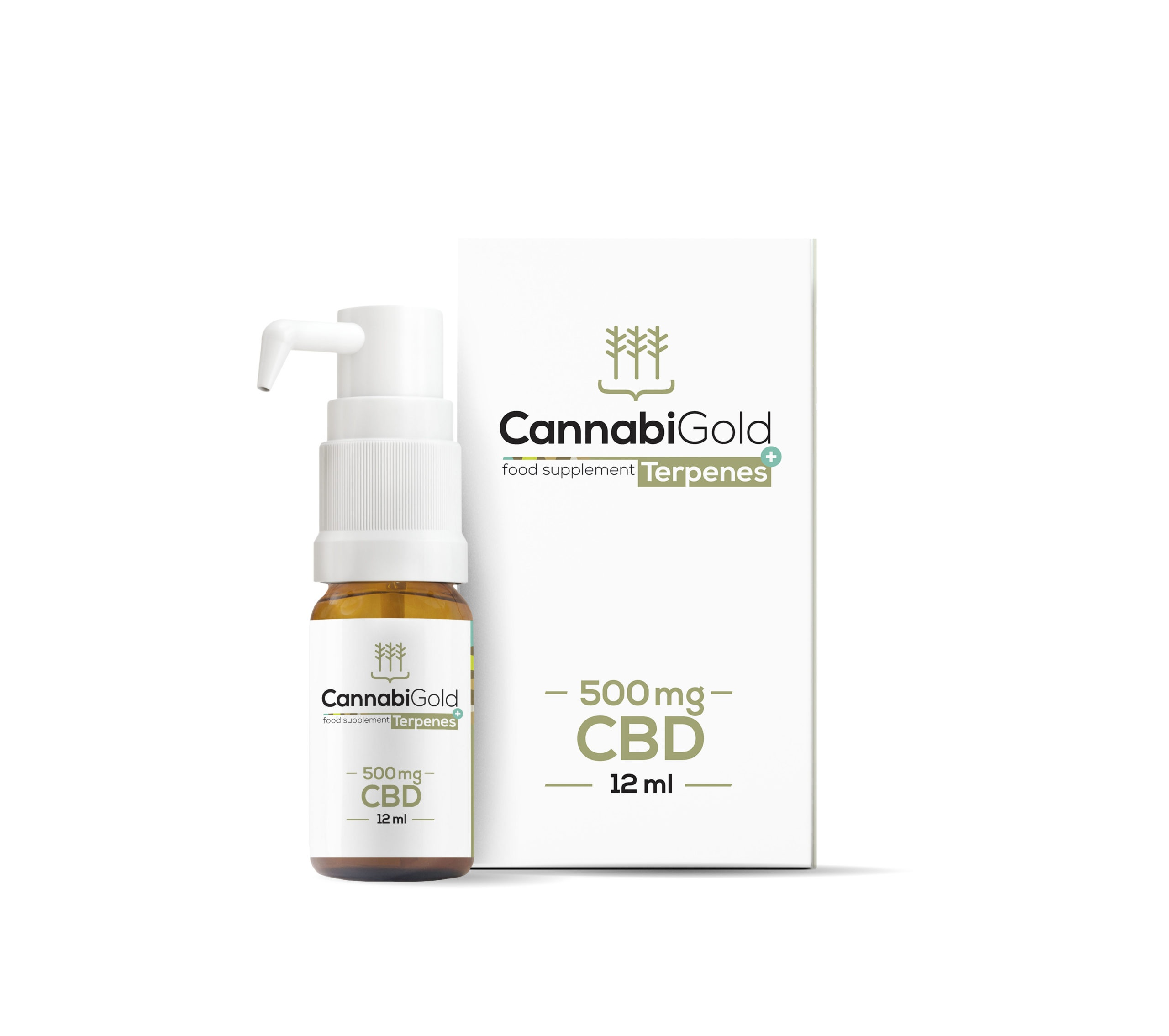 CannabiGold Terpenes+ 500 mg CBD