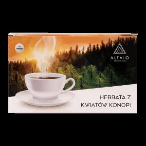 herbata konopna z kwiatów konopi 20 saszetek
