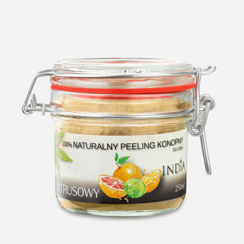 India Cosmetics Naturalny peeling cytrusowy 250 ml