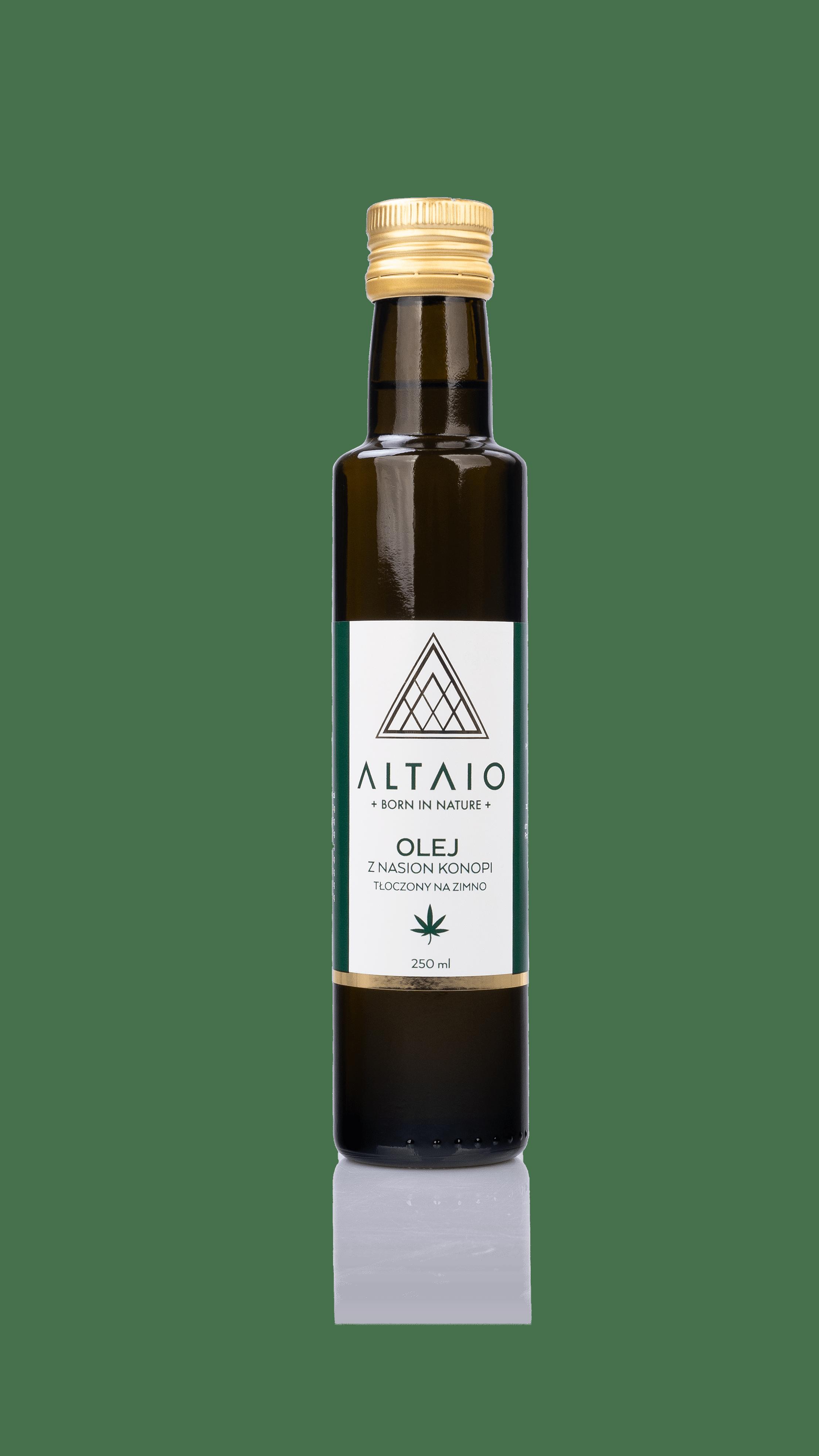 Olej z nasion konopi ALTAIO 250ml