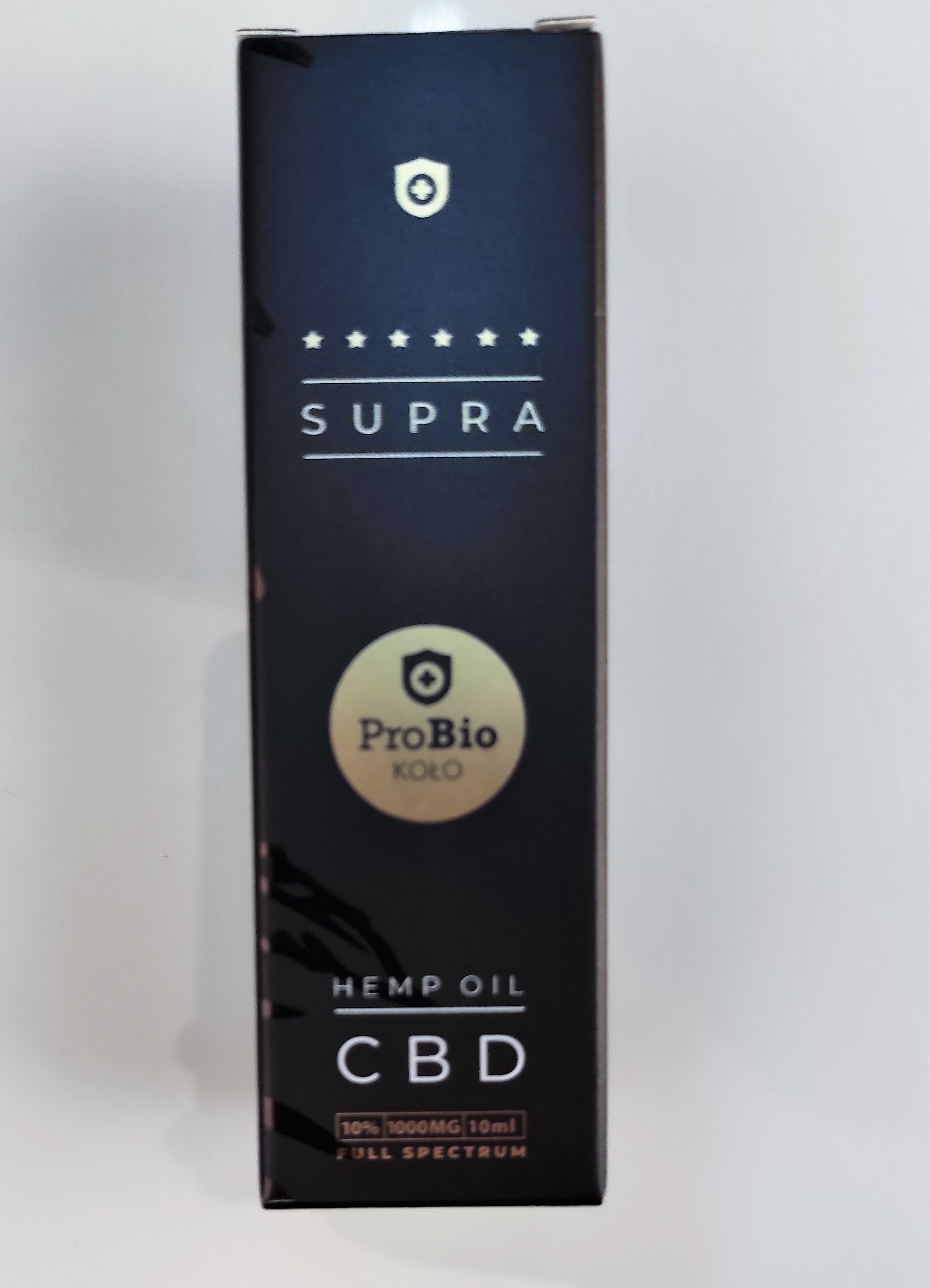 Probio Koło Supra Olejek CBD 1000 mg 10ml