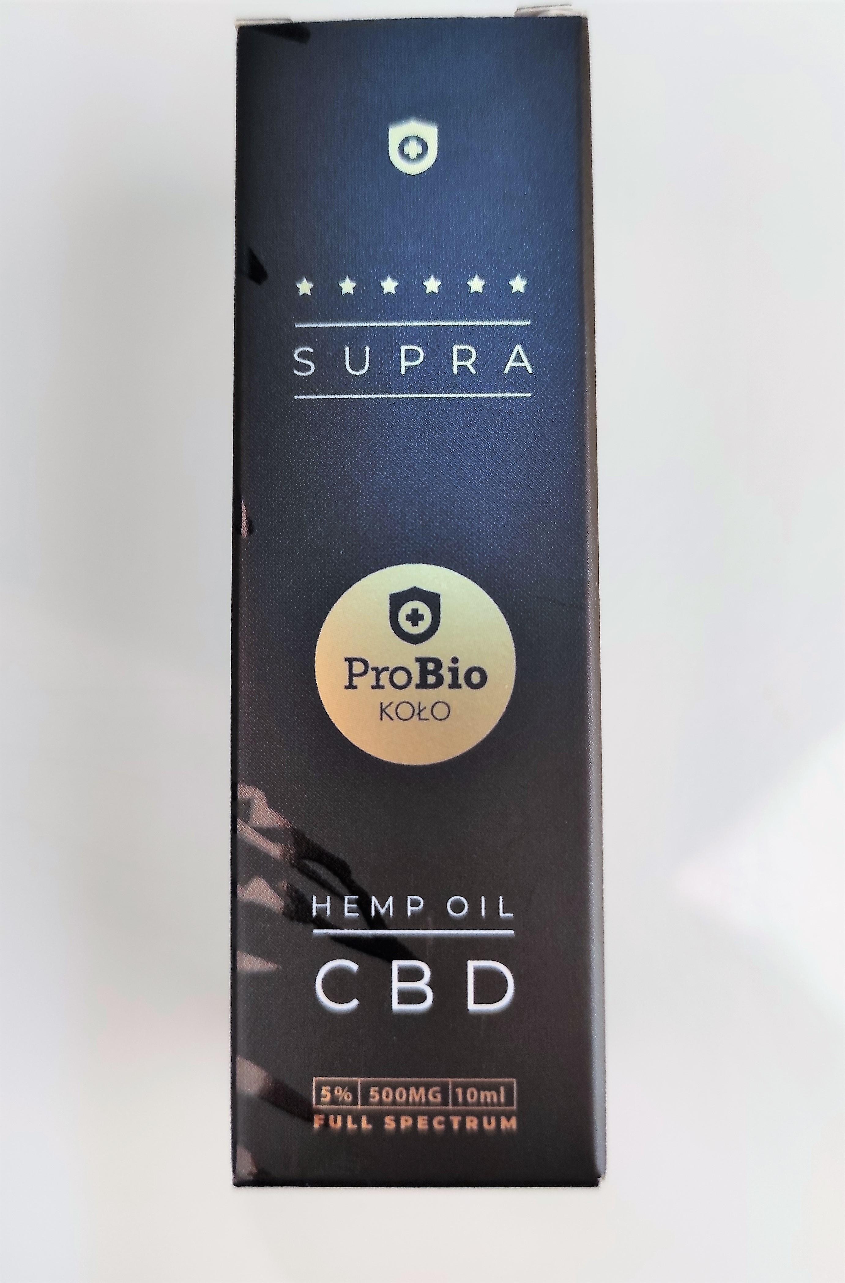 Probio Koło Supra Olejek CBD 500 mg 10ml